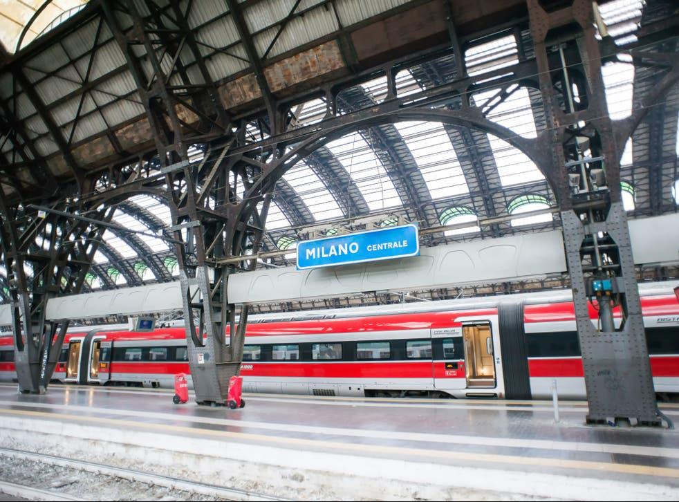 Covid-free trains will run to Milan