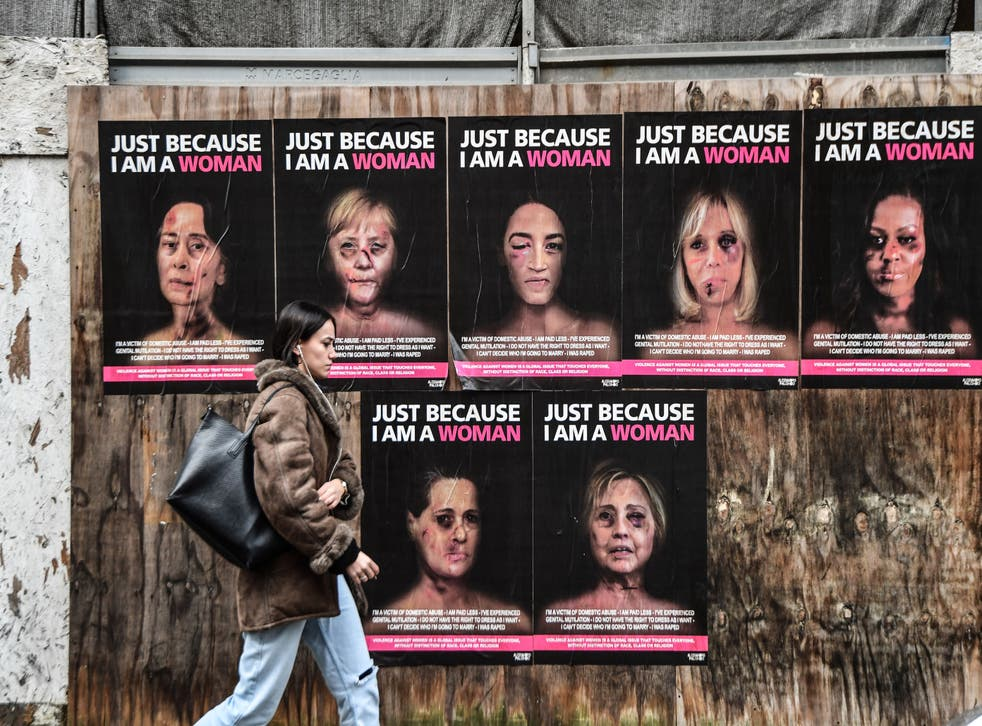 <p>Violence towards women and girls begins at an 'alarmingly young' age</p>