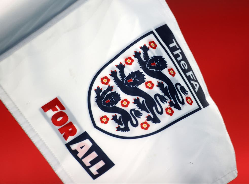 A general view of The FA logo