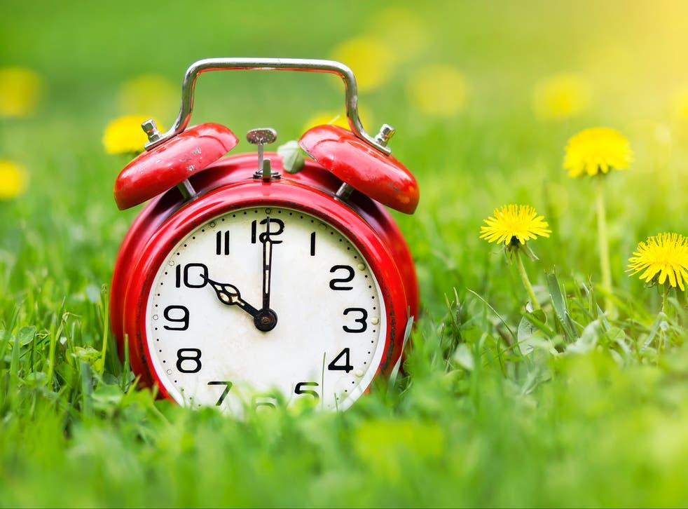 When do the clocks spring forward?