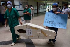 COVID: Pandemia provoca el colapso del sistema de salud en Paraguay