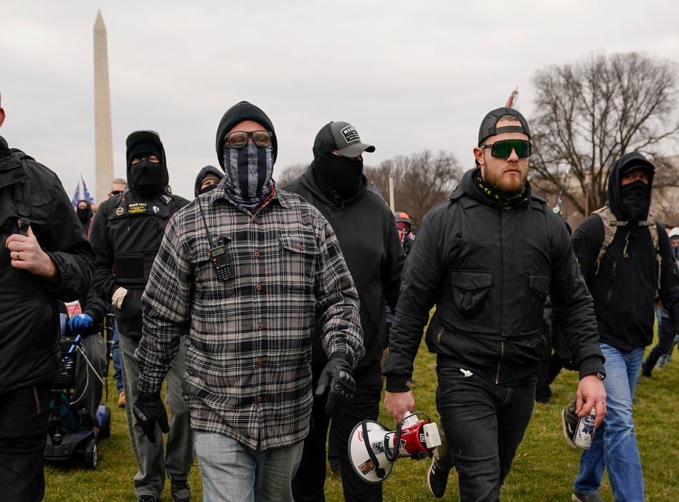 Capitol Breach Extremist Plots