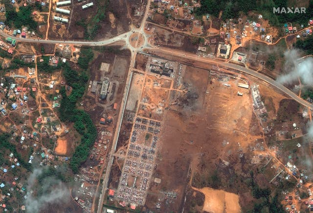 Equatorial Guinea Explosions