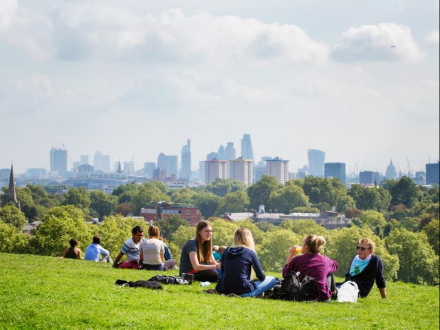 <p>Groups of up to six people from multiple households, or larger groups from only two households, will be able to meet outdoors or in private gardens from 29 March under the government's roadmap out of lockdown</p>