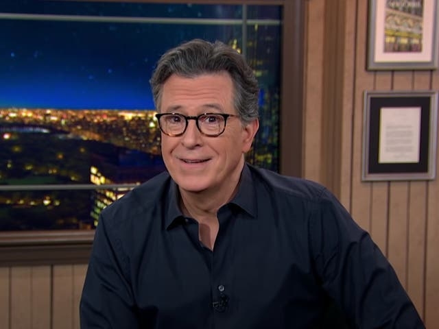 Stephen Colbert en The Late Show with Stephen Colbert