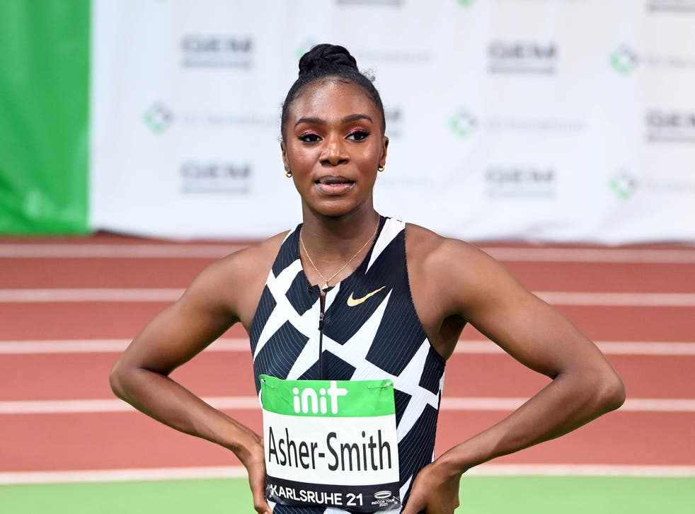Dina Asher-Smith has called on the sports industry to focus less on aesthetics when promoting women's sport