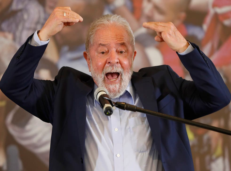 APTOPIX Brazil Ex President
