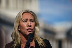 """Marjorie Taylor Greene afirma que el proyecto de ley por el covid-19 de los demócratas """"esclaviza"""" a los EE.UU."""
