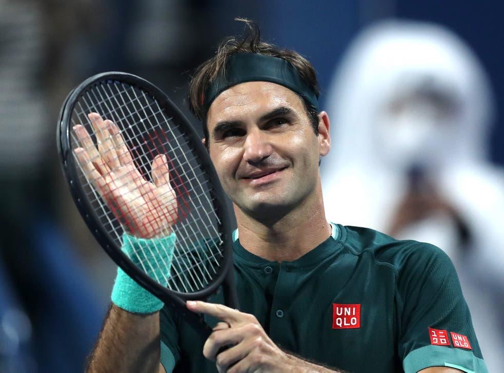 Roger Federer made his long-awaited return to the ATP Tour