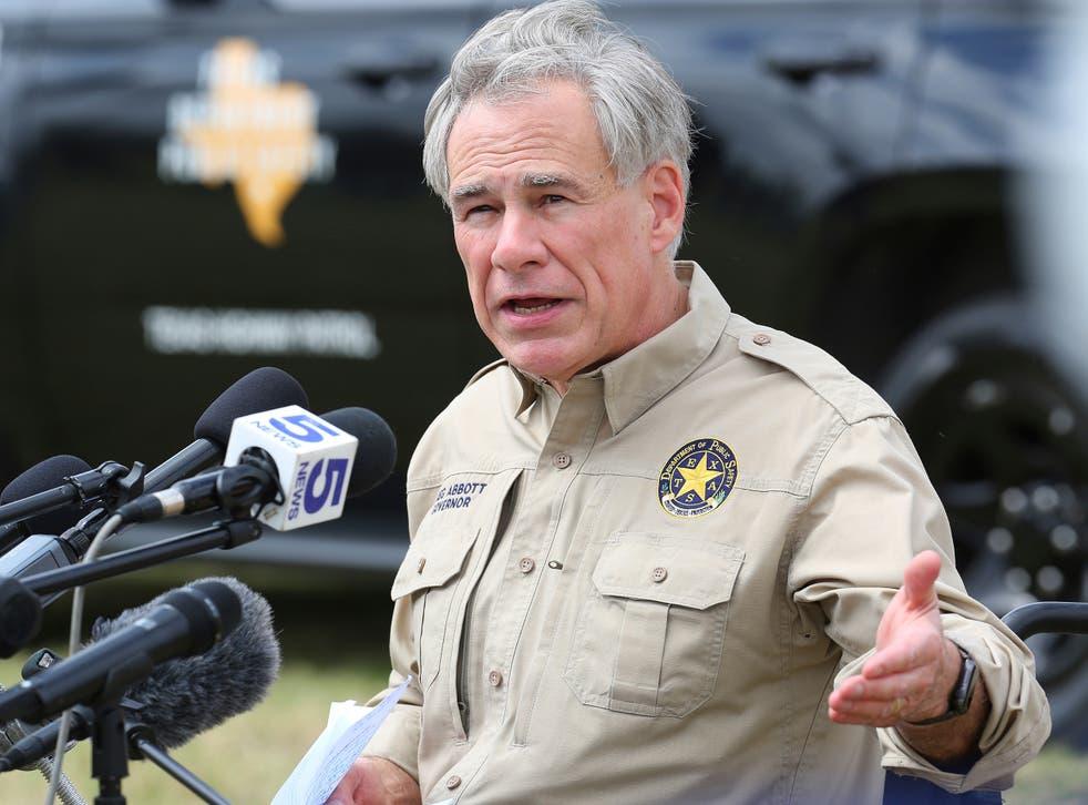 Texas Governor Immigration