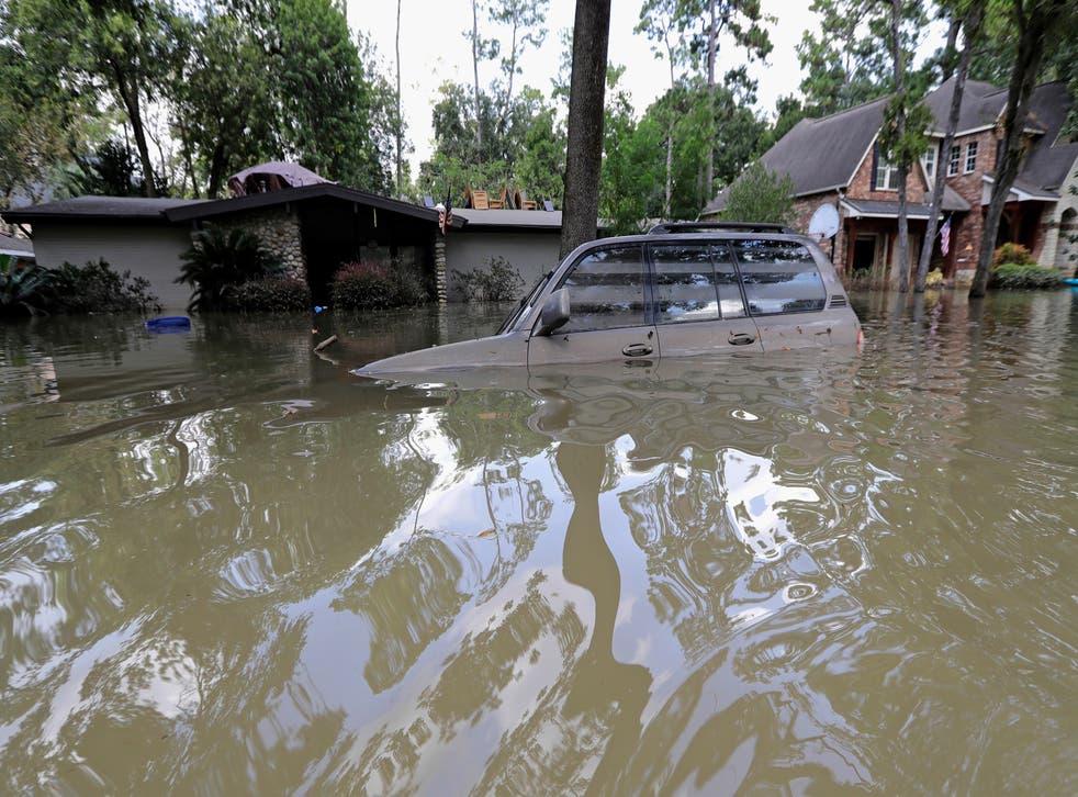 Harvey Flood Control Projects