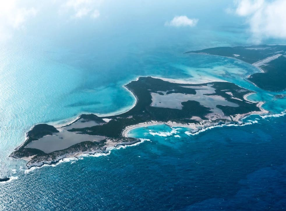 <p>The 730-acre Little Ragged Island in the Bahamas is being auctioned off to the highest bidder</p>