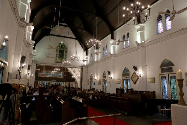 <p>File Image: An interior view St Mary's Cathedral in Kuala Lumpur, Malaysia </p>