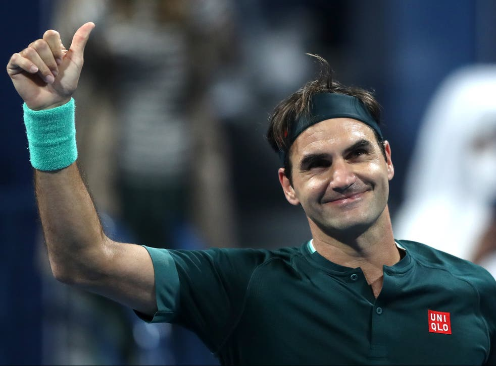 <p>Roger Federer defeats Dan Evans on his comeback</p>