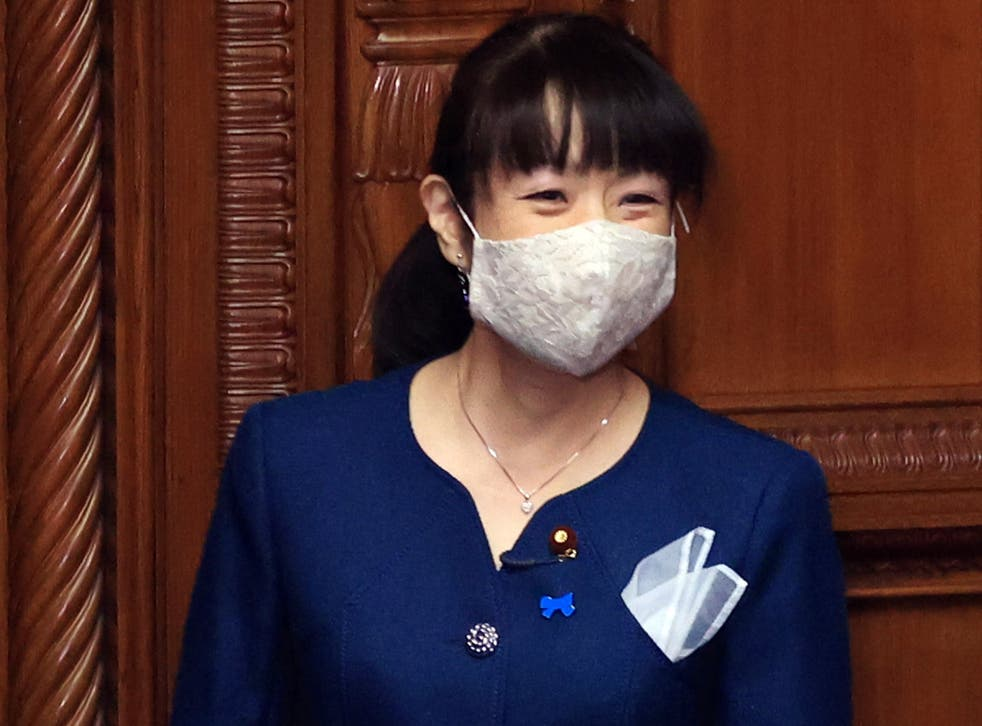 <p>Mio Sugita was awarded for Japan's most sexist comment 2020</p>