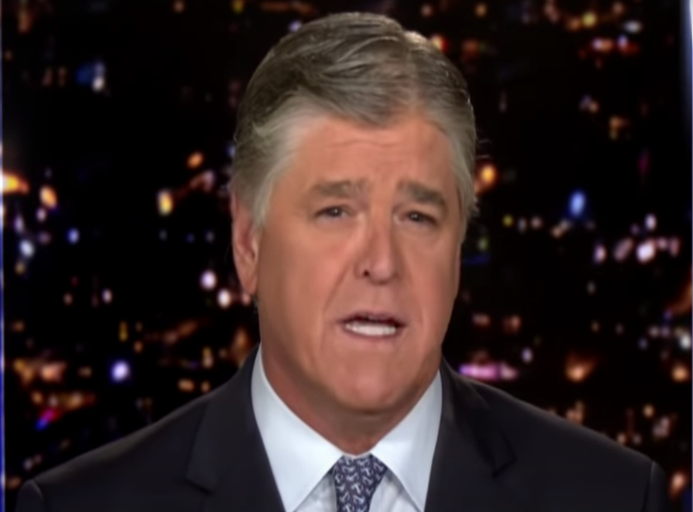 <p>Right-wing pundit Sean Hannity says humanity should 'have a big party' rather than address the climate crisis</p>