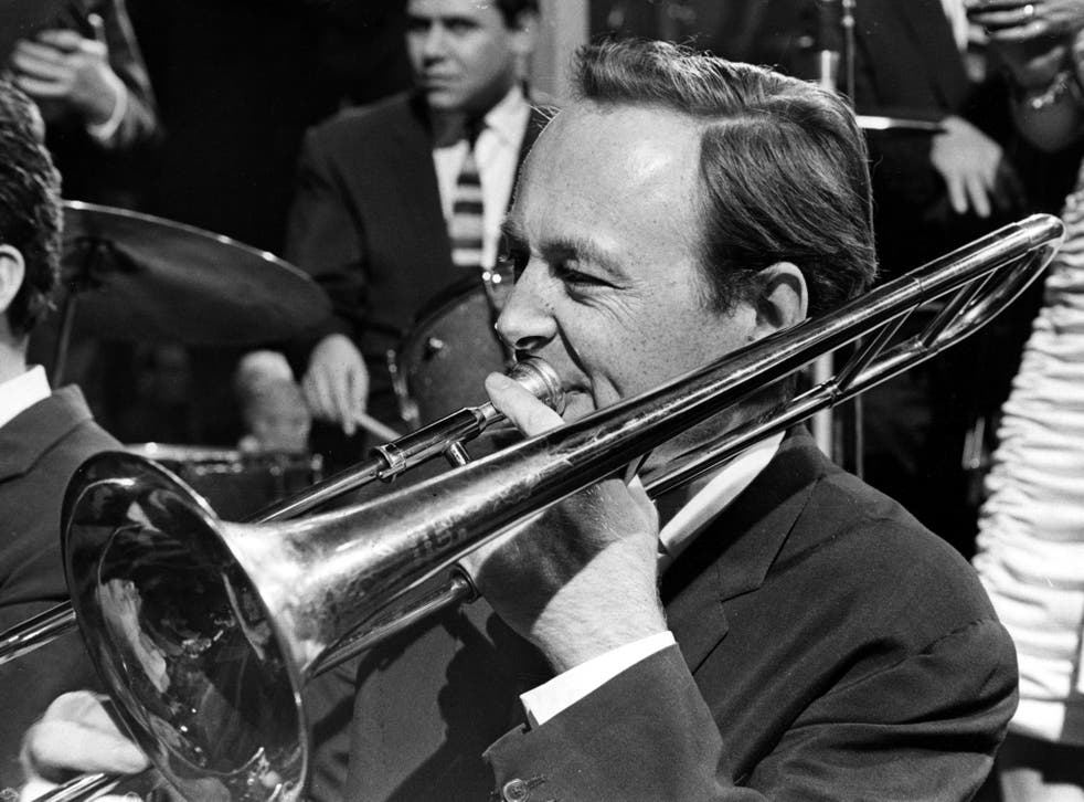 Barber performs with his jazz band circa 1962
