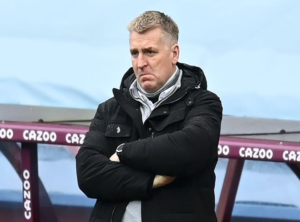 <p>Dean Smith has presided over a positive season for Villa</p>