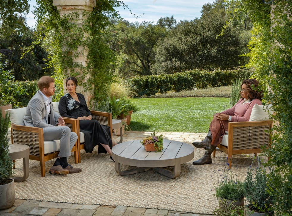<p>Twelve million viewers in the UK tuned in to ITV on Monday night to watch Harry and Meghan's bombshell interview with Oprah Winfrey</p>