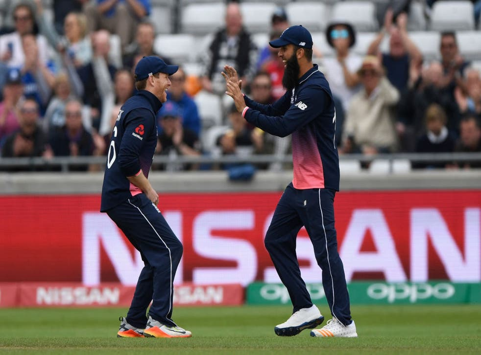 <p>Morgan has talked up Ali's importance to the one-day set-up</p>