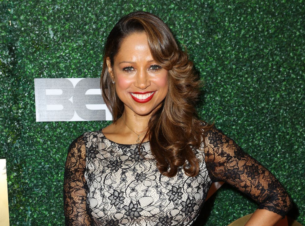 Stacey Dash at a luncheon on 7 March 2020 in Burbank, California