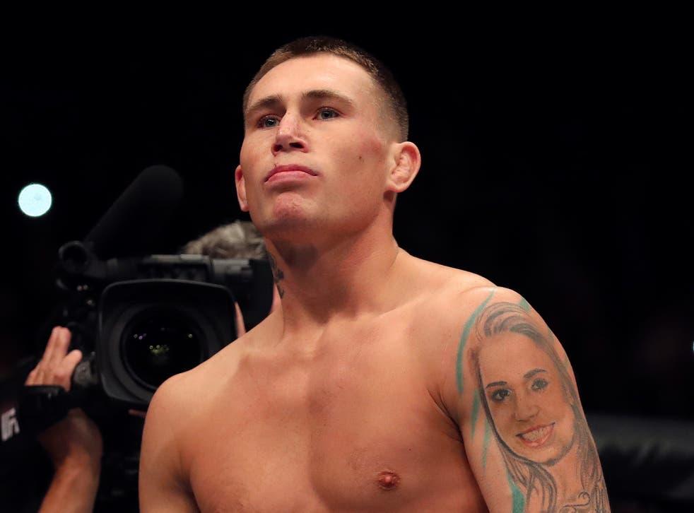 Liverpudlian UFC middleweight Darren Till (18-3-1)
