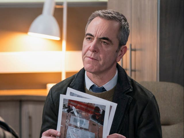 James Nesbitt as Tom Brannick in Bloodlands, available to watch now on BBC iPlayer