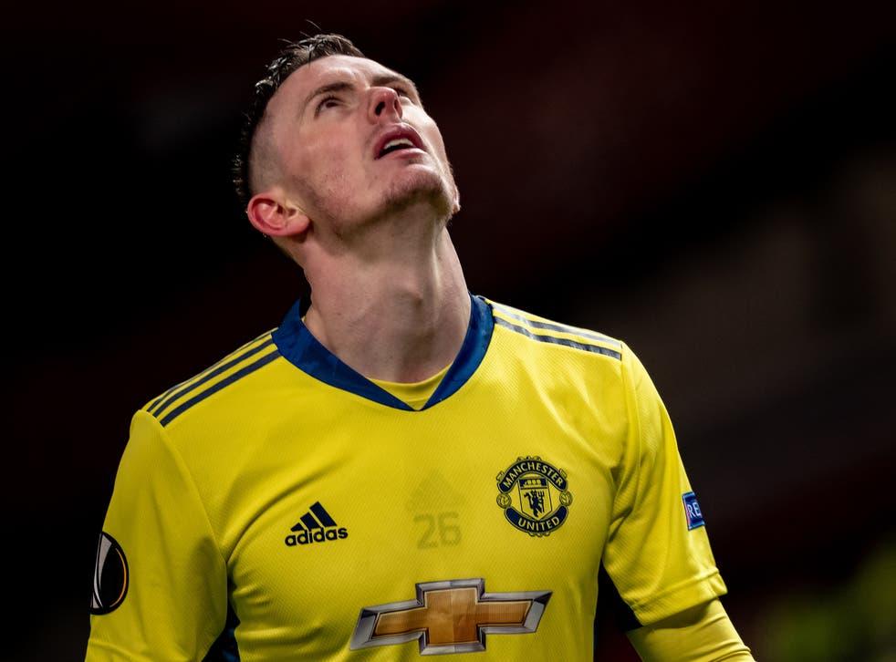 Manchester United goalkeeper Dean Henderson