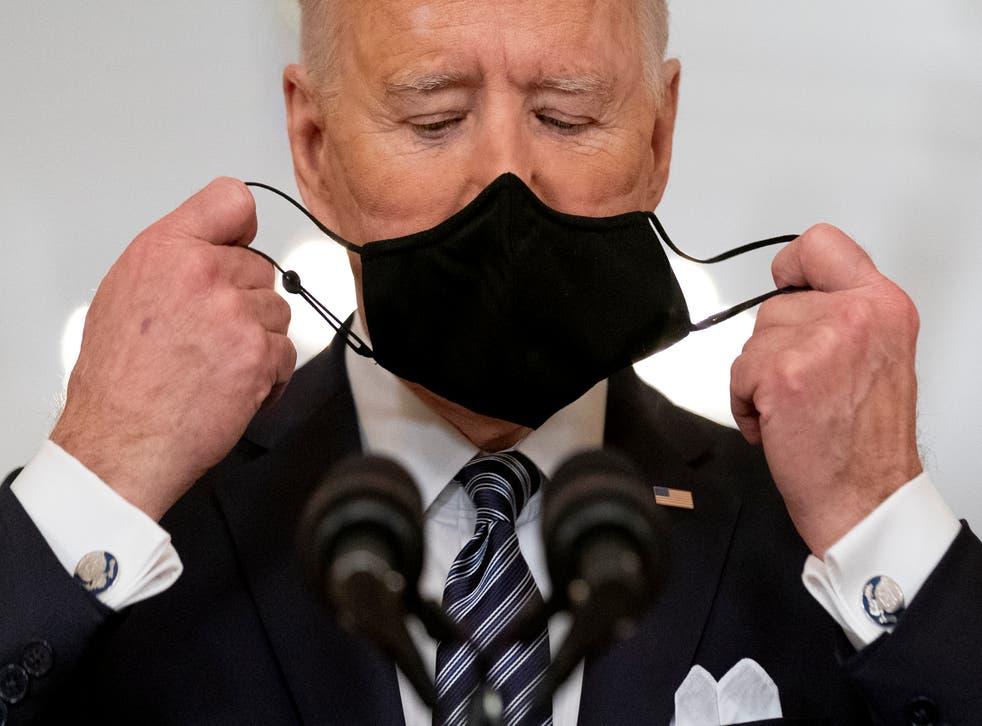 APTOPIX Biden Virus Outbreak