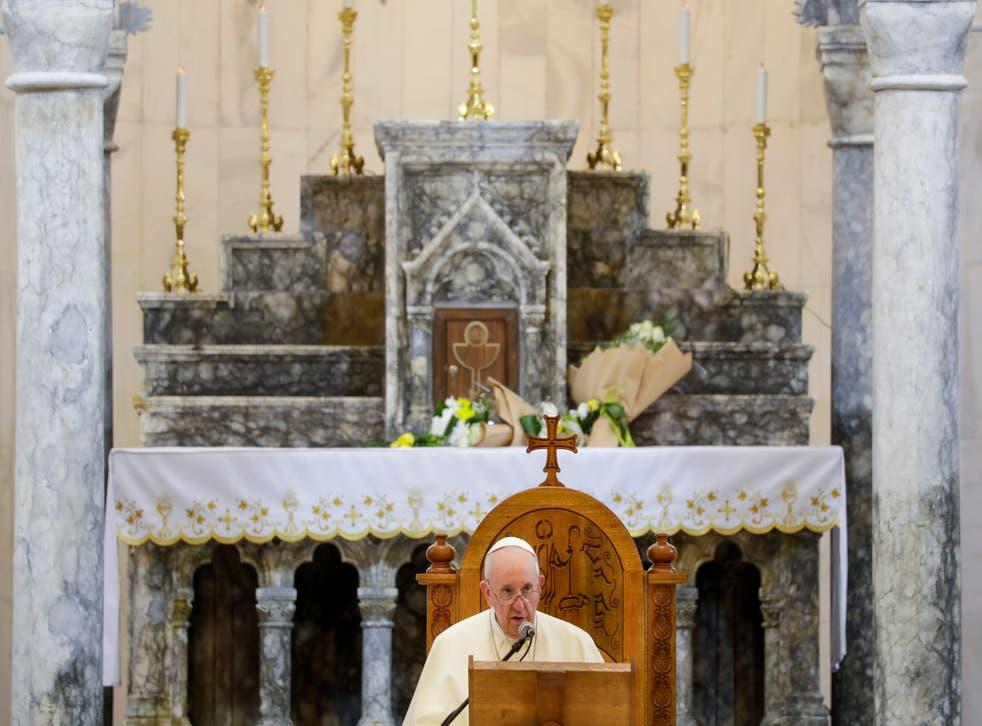 Iraq Meeting the Pope