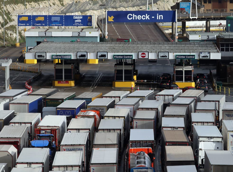 UK goods exports to the EU plunged by a record 40.7 per cent in January after the end of the Brexit transition period