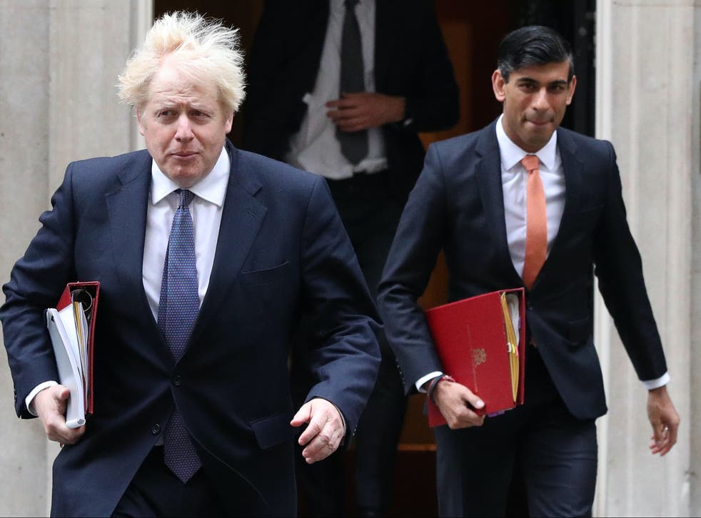 <p>Rishi Sunak confirmed the aid cut in one of his financial statements to parliament</p>