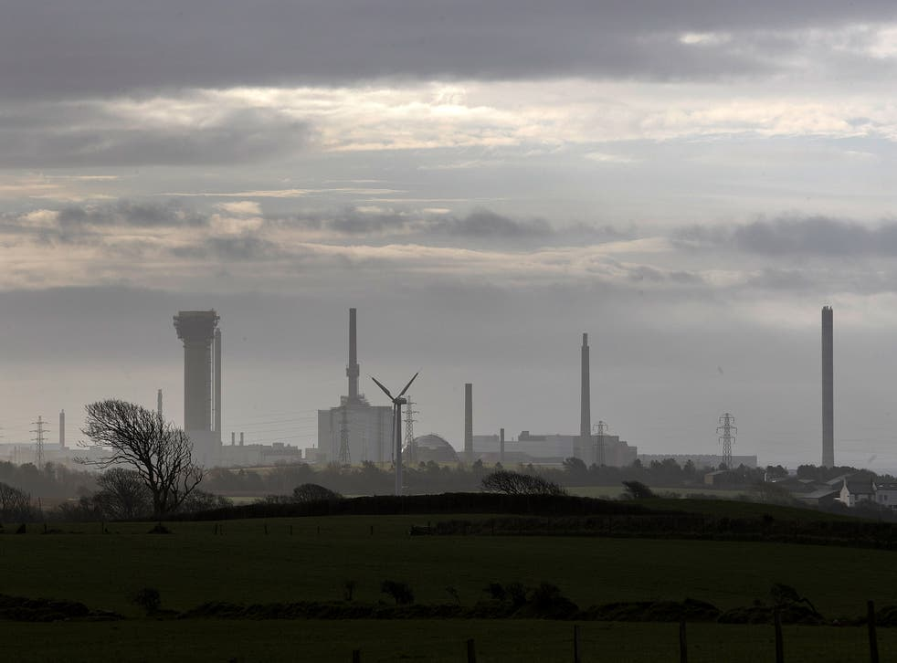 A view of Sellafield Nuclear Power Station in Whitehaven, Cumbria