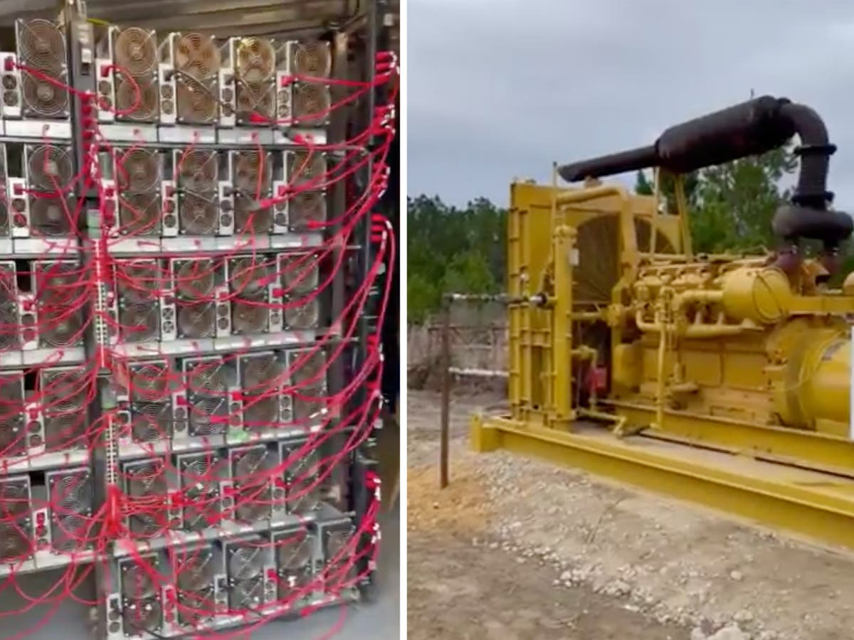 'Absurd' video of bitcoin mine hooked to an oil well sparks outrage - but it's complicated