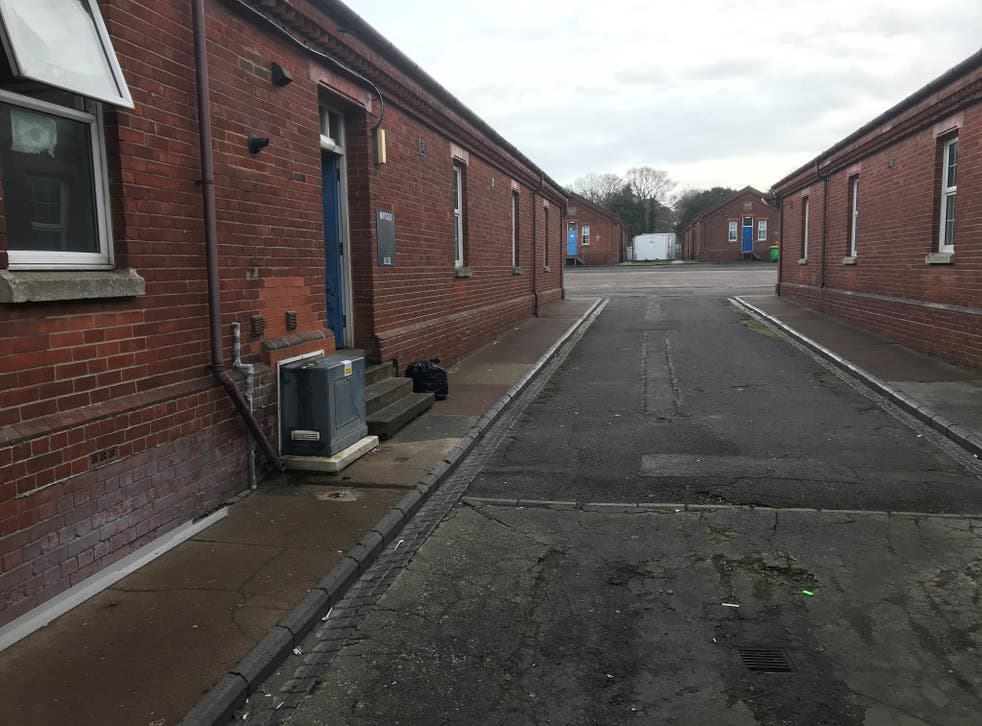 <p>The home secretary had 'always accepted and acknowledged that transmission risk is higher in congregate settings' such as Napier Barracks, the court heard</p>