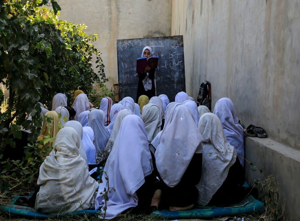 Afghanistan Banning Girls Singing
