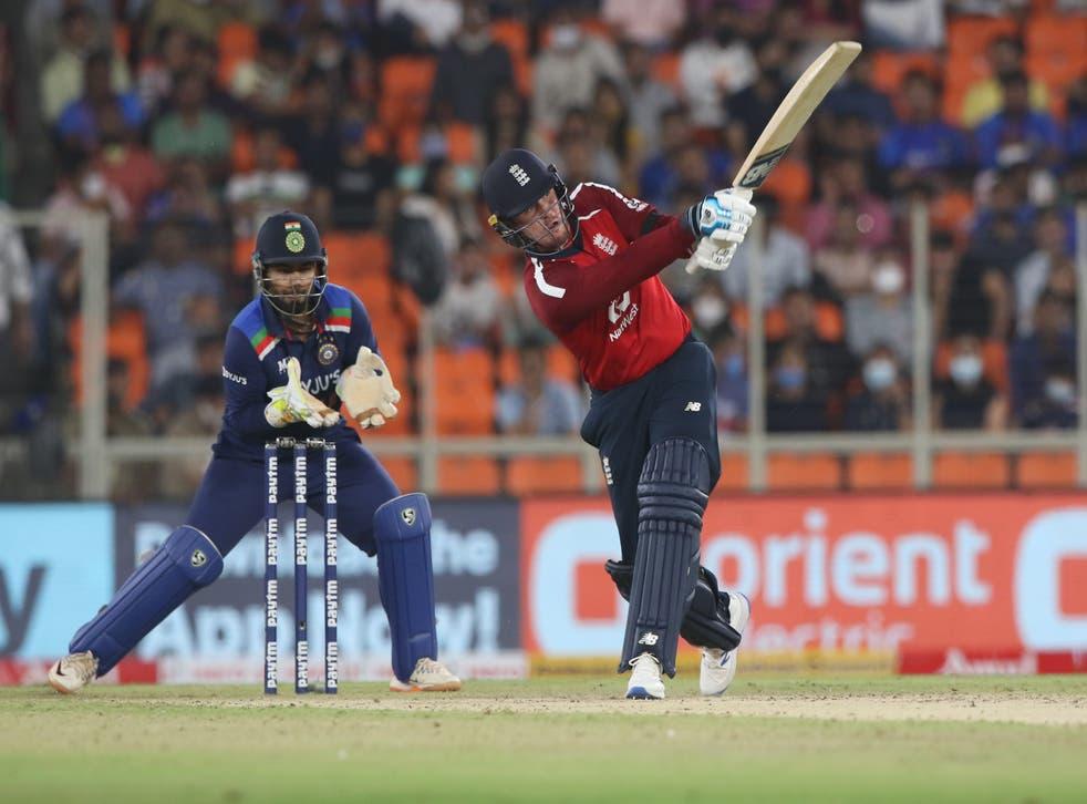 Jason Roy goes big for England