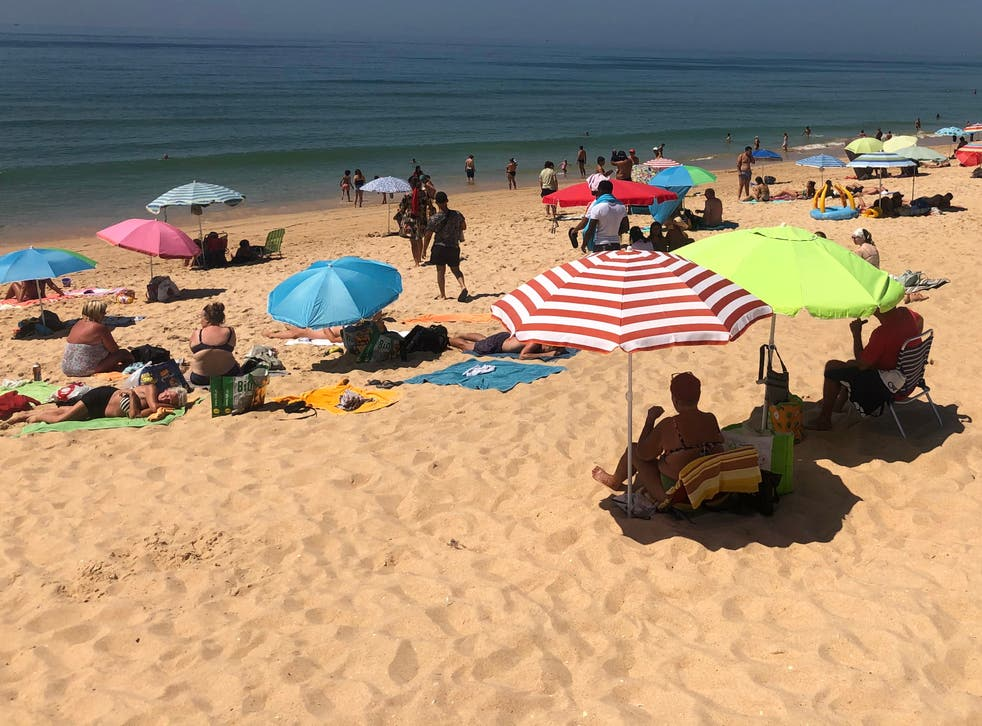 <p>The Algarve could welcome British tourists from 17 May</p>