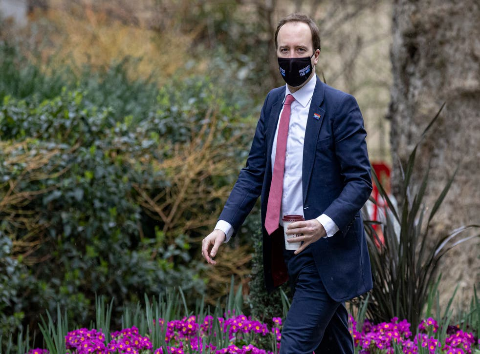 <p>The health secretary is said to have raised the issue during a Covid-19 meeting</p>