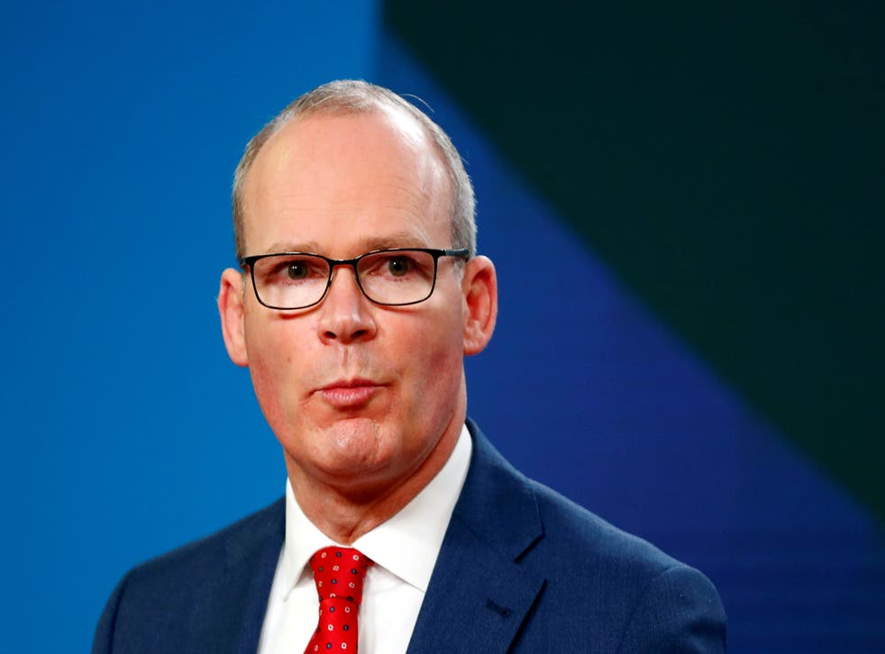 Simon Coveney says trust has been broken between the bloc and its former member state