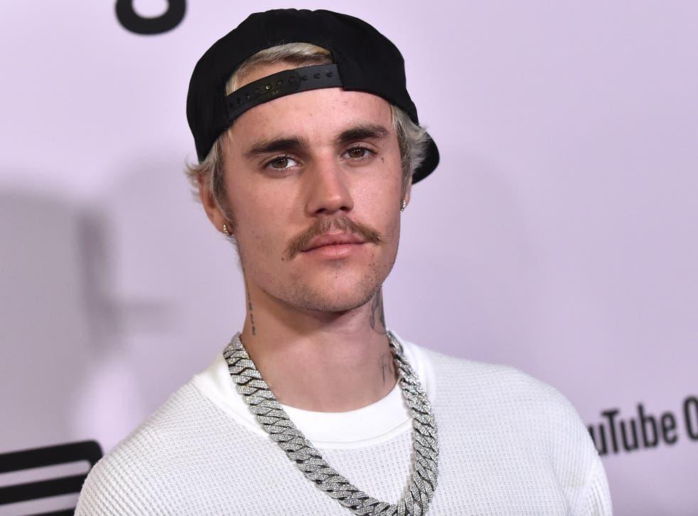 <p>Bieber in 2020</p>