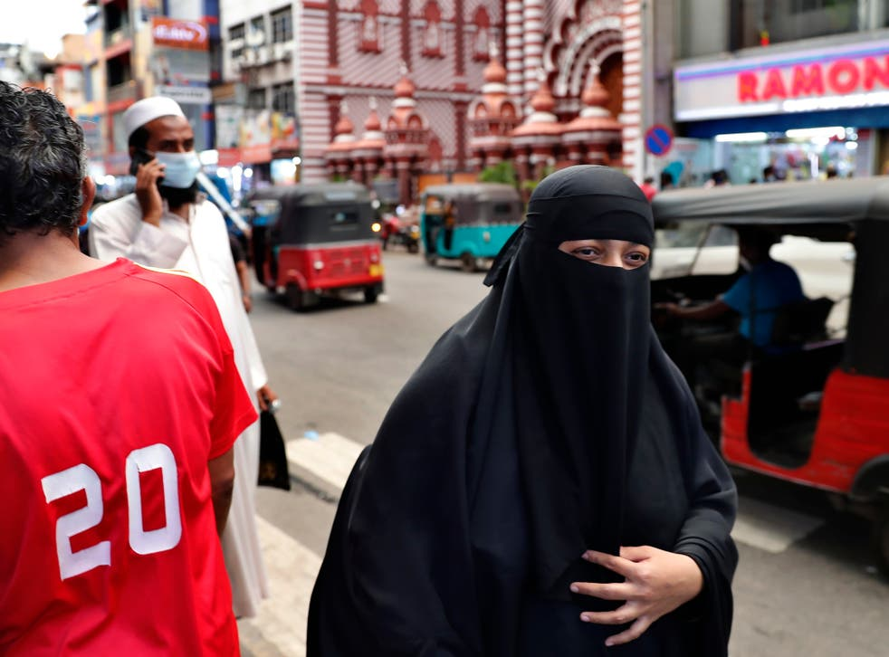 <p>A burqa is an outer garment that covers the entire body and the face</p>