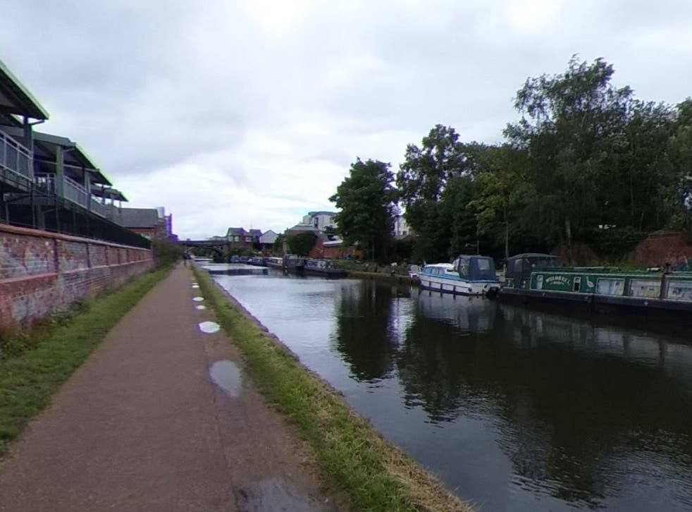 Three attacks took place on the Bridgewater Canal towpath in Sale, Greater Manchester