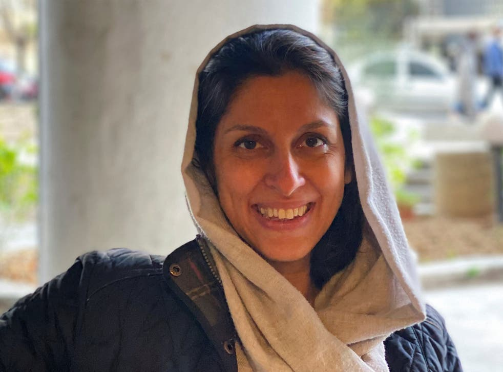 <p>The British-Iranian aid worker is charged with 'propaganda against the system'</p>