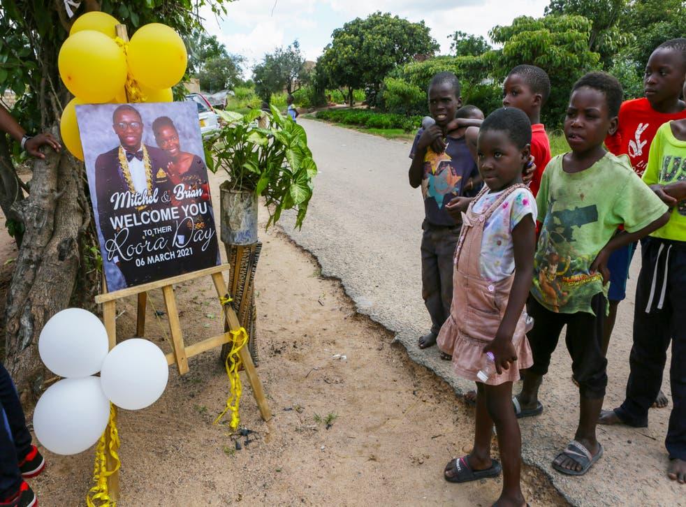 Virus Outbreak Africa Big Weddings