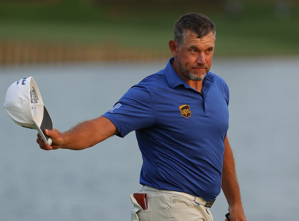 Lee Westwood nearly won the competition in 2010