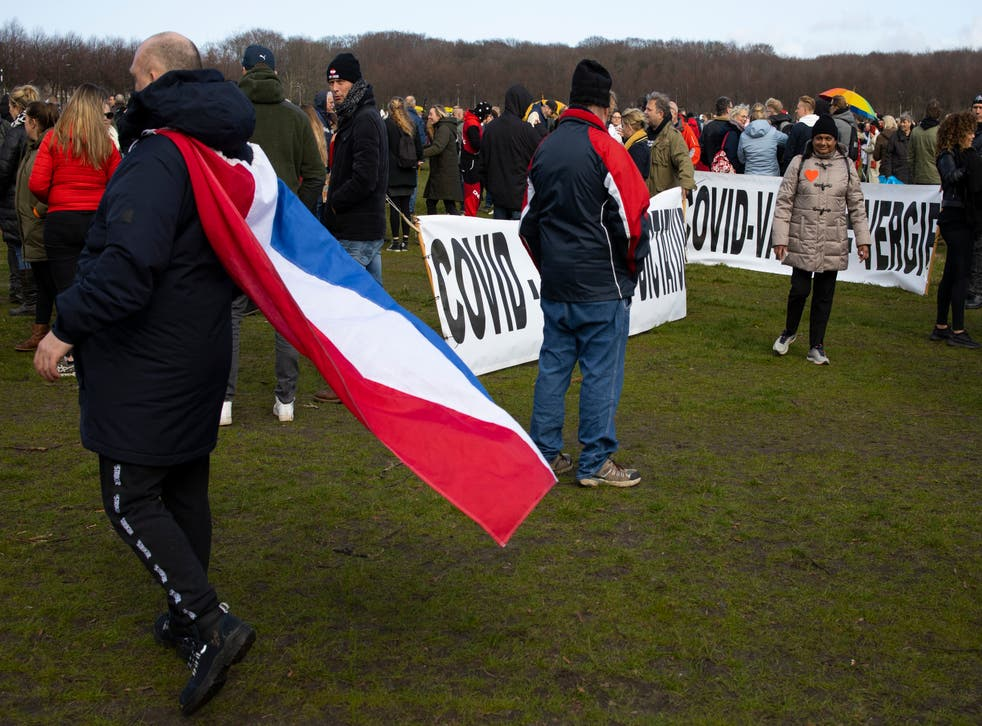 Virus Outbreak Netherlands Election