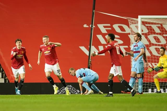 Craig Dawson, right, scored an own goal