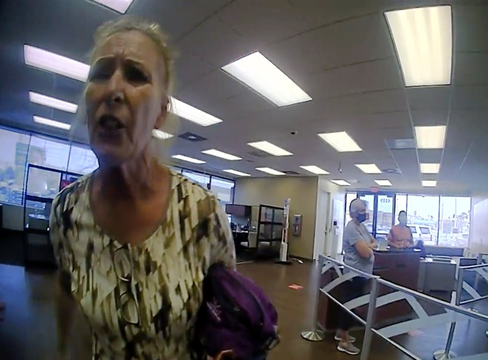 Texas Woman Refuses to Wear Mask