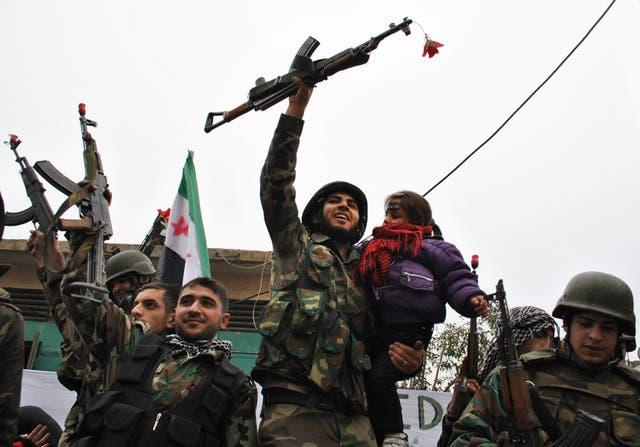 Syria War Timeline